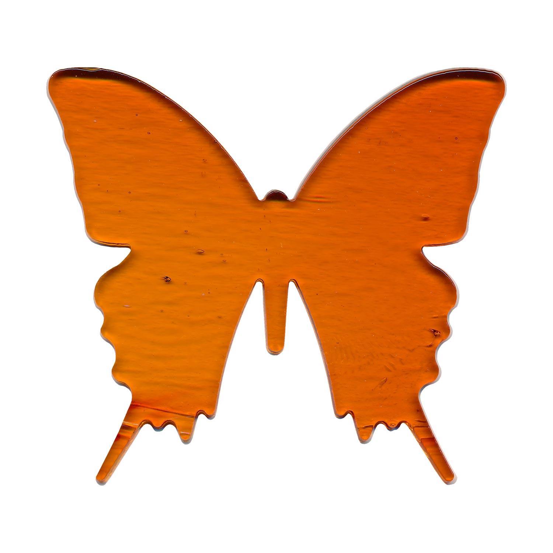 Orange Butterfly Fusible Pre-Cut - 90 COE