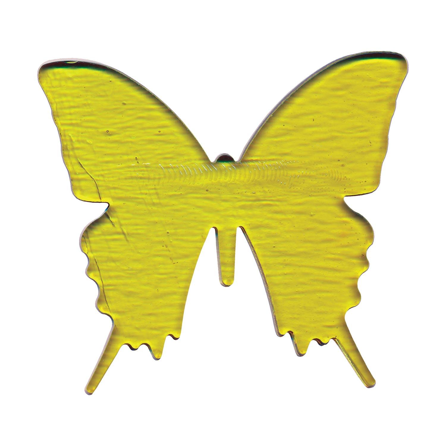 Yellow Butterfly Fusible Pre-Cut - 90 COE