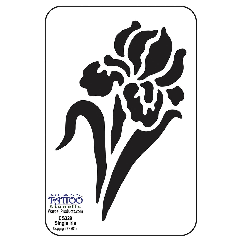Iris Acrylic Stencil