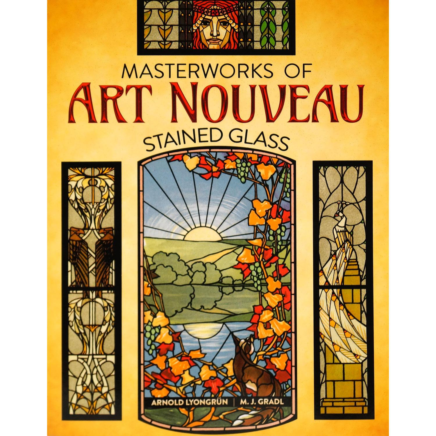 Masterworks Of Art Nouveau Stained Glass | Pattern Collections Delphi