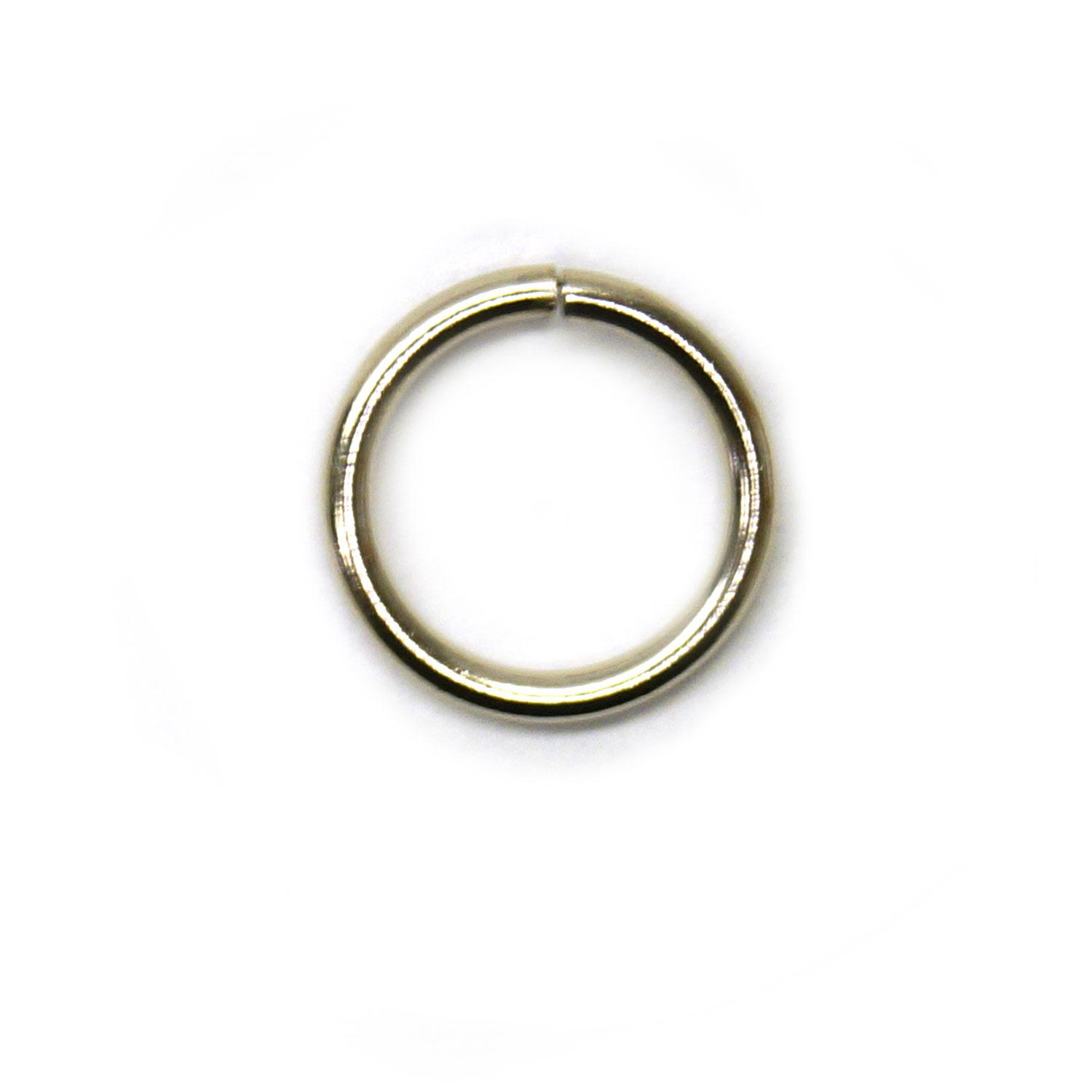 5/16 Nickel Jump Rings - 50 Pieces
