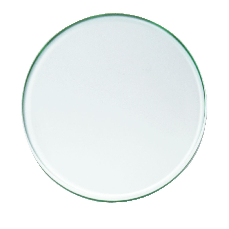 8 Circle Polished Edge Beveled Float Glass