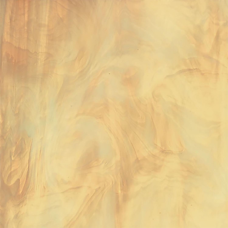 Oceanside Pale Amber & White Translucent Streaky - 96 COE