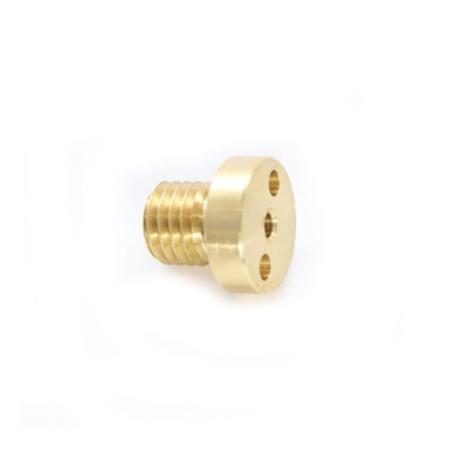Covington Brass Centering Pin with Coolant Hole