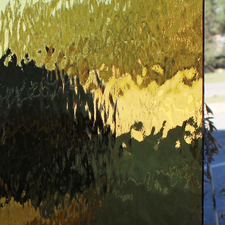 Oceanside Pale Amber Transparent Waterglass