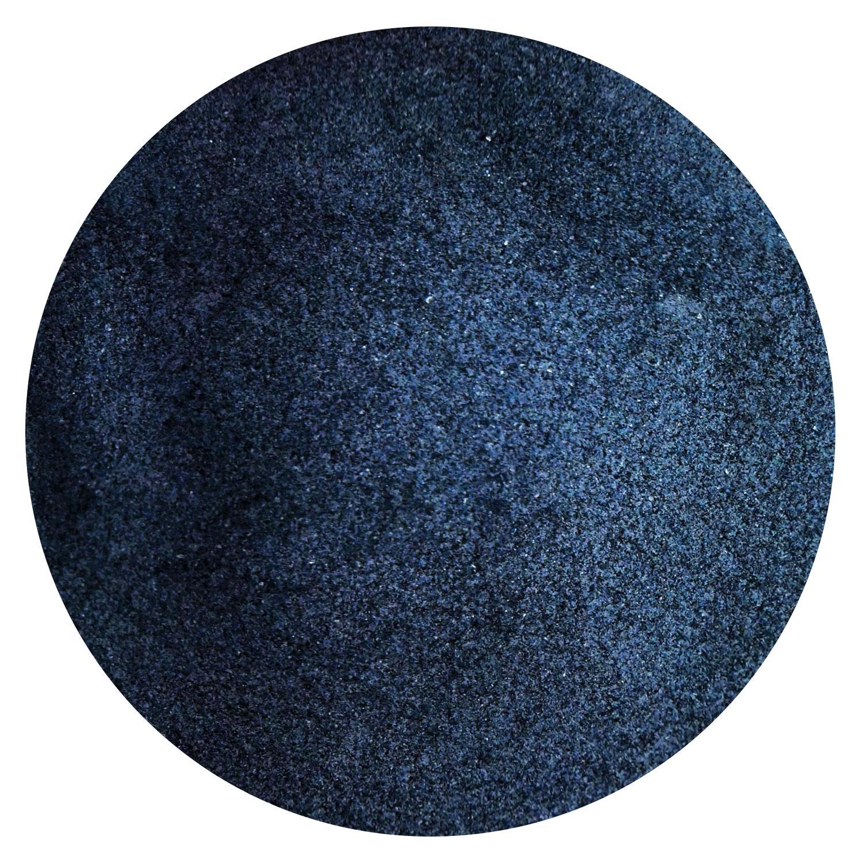 1 lb Blue Black Opal Powder Frit - 90 COE