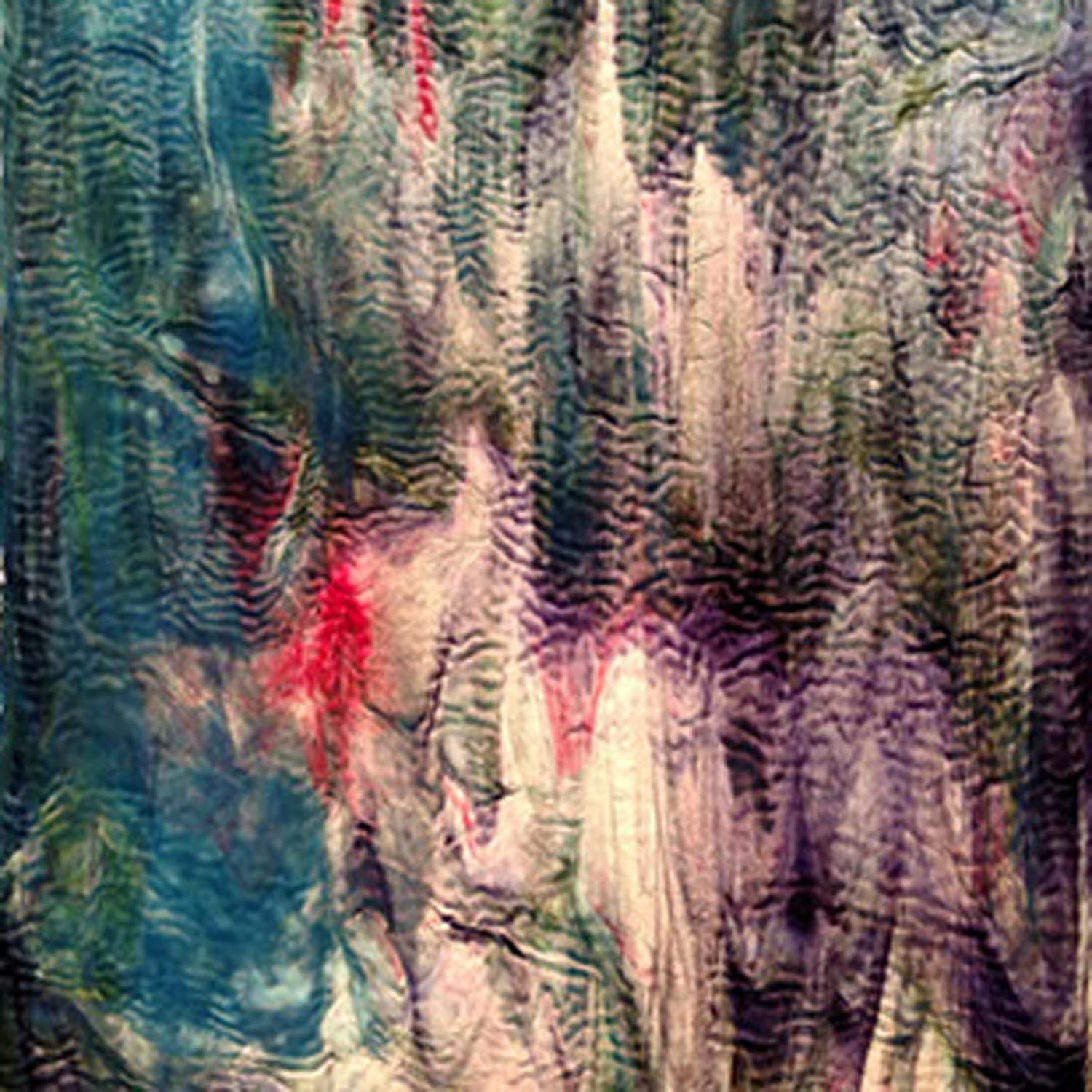 Youghiogheny Blue, Green and Purple Highlights Ripple Stipple
