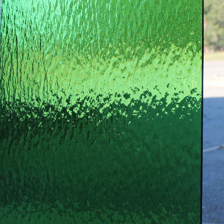 Oceanside Light Green Transparent Rough Rolled