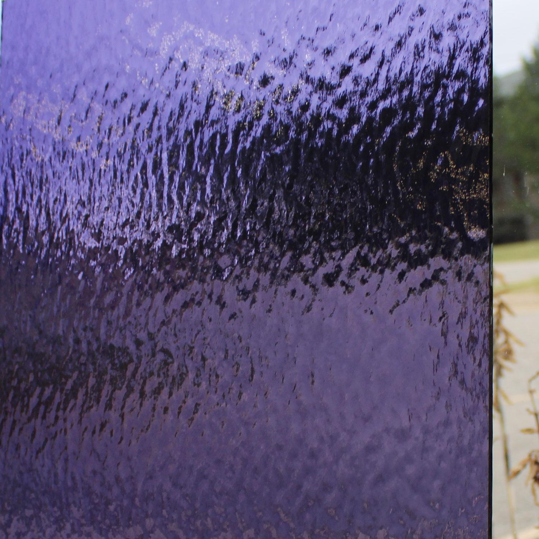 Oceanside Grape Transparent Rough Rolled