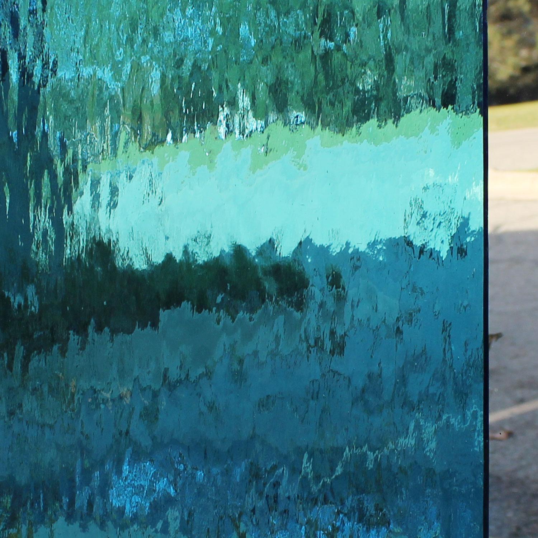 Oceanside Sky Blue Transparent Waterglass