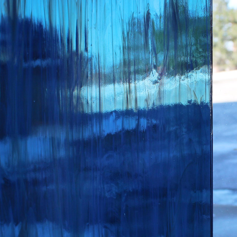 Oceanside Steel Blue and White Wispy - 96 COE