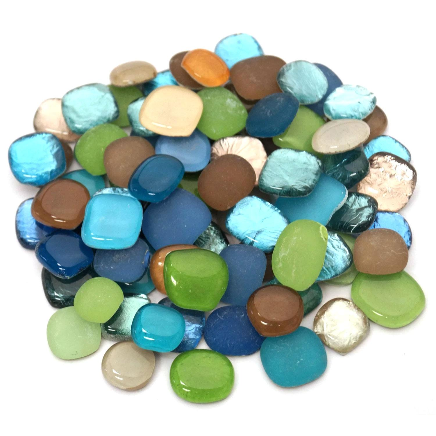 Beachside Mix Pebbles - 1-1/2 lb