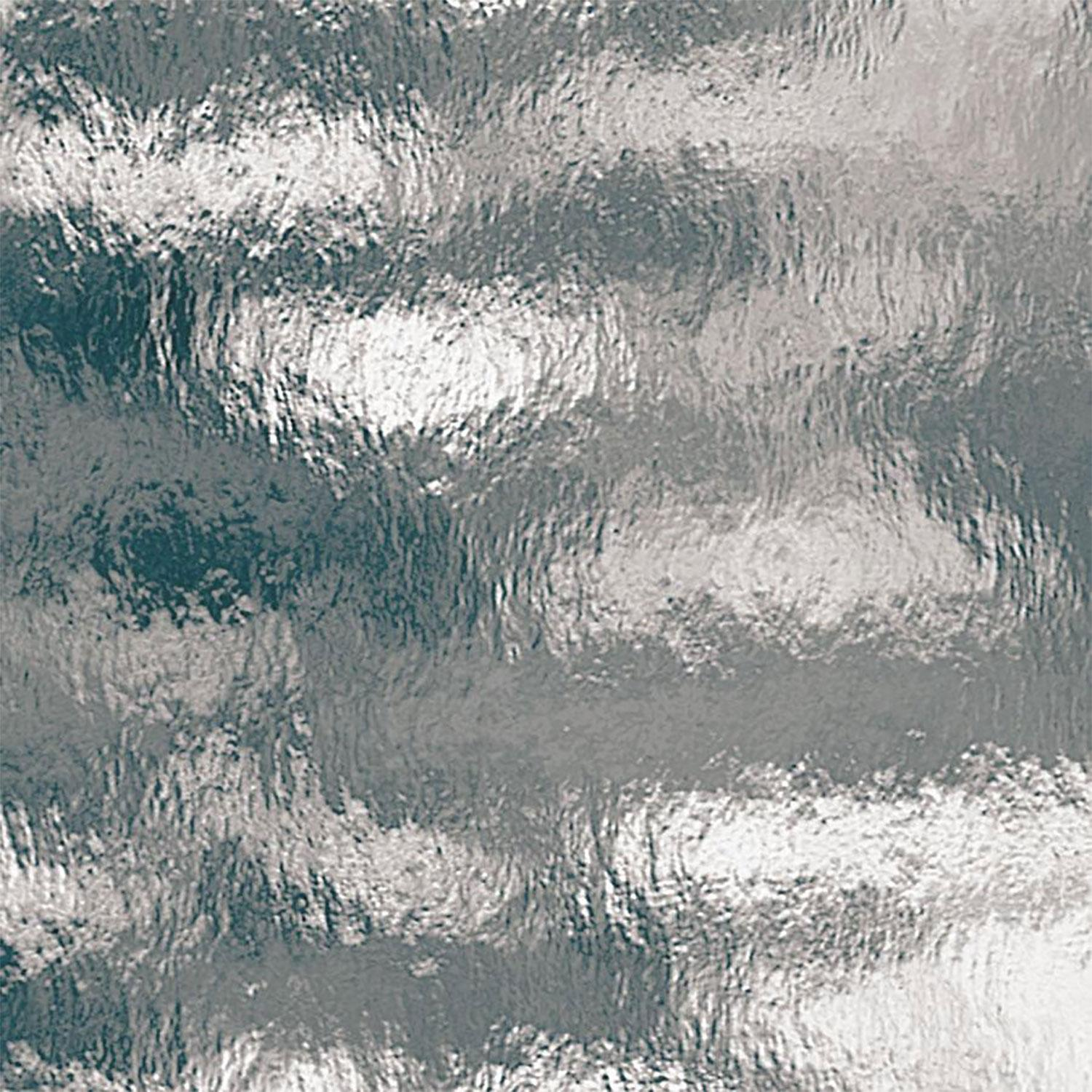 Oceanside Pale Gray Transparent Rough Rolled