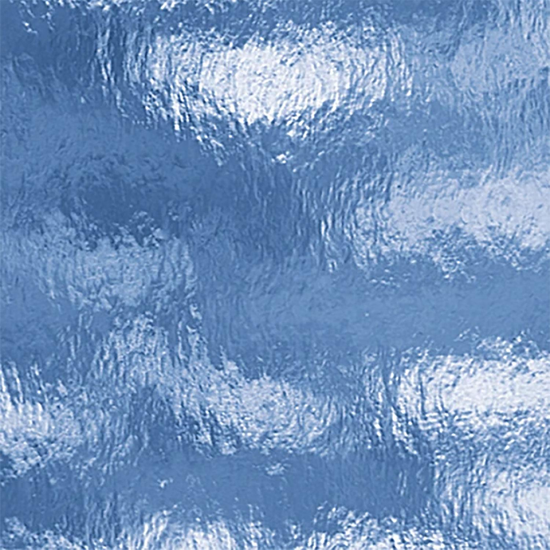 Oceanside Pale Blue Transparent Rough Rolled