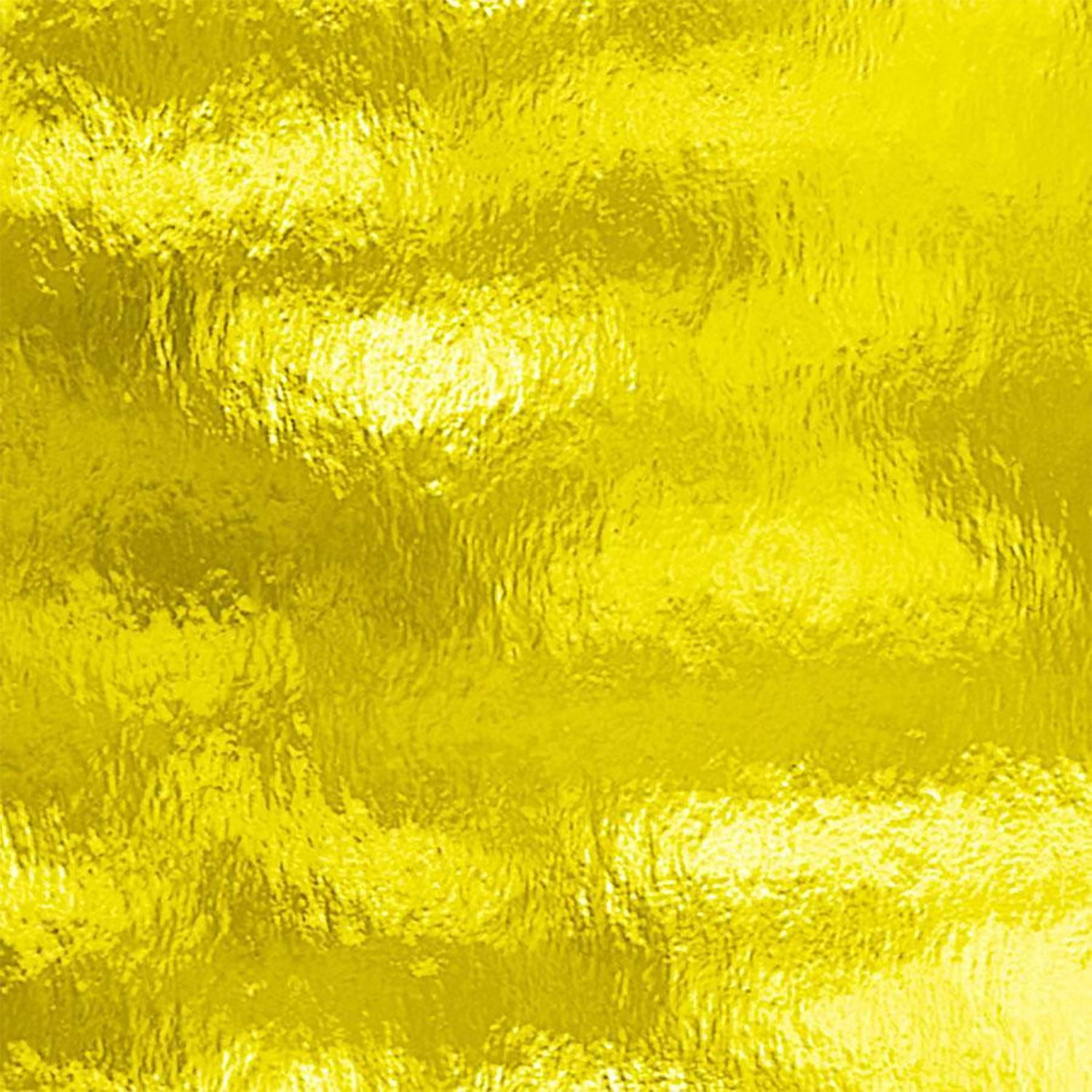 Oceanside Yellow Transparent Rough Rolled