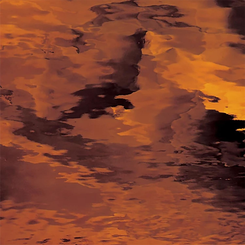 Oceanside Dark Amber Transparent Waterglass