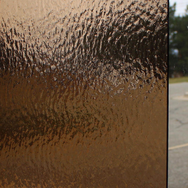 Oceanside Bronze Transparent Rough Rolled