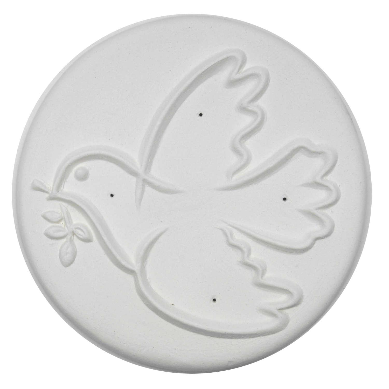 Delphi Studio Peace Dove Impression Tile