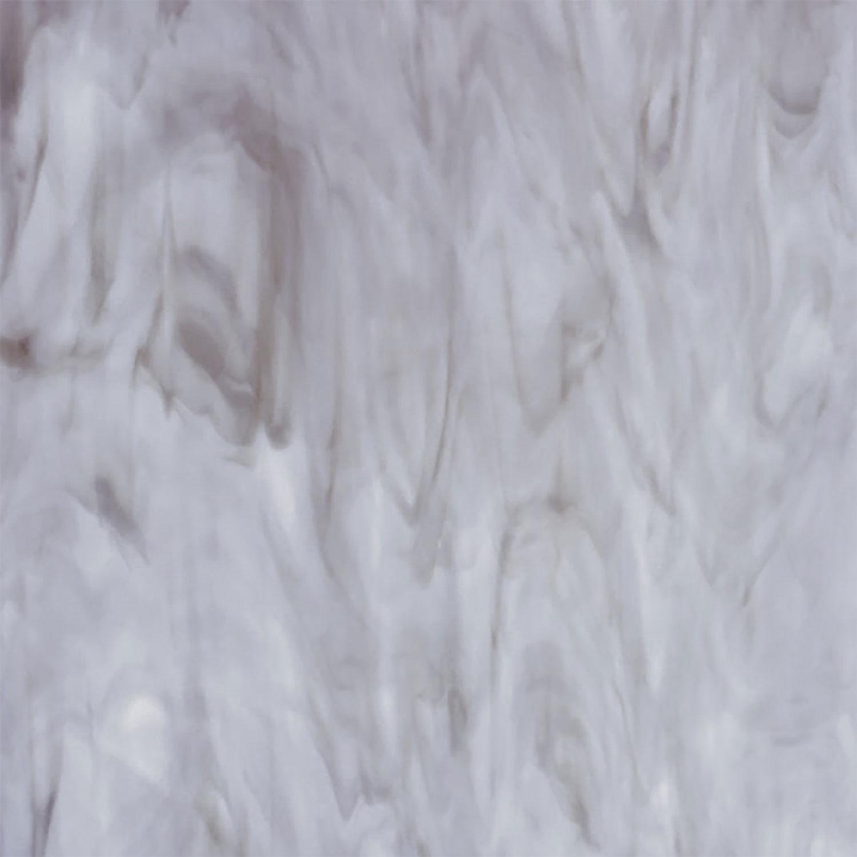 Oceanside White & Light Gray Opal Streaky - 96 COE