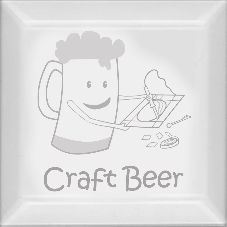 Delphi Studio Craft Beer Engraved Bevel