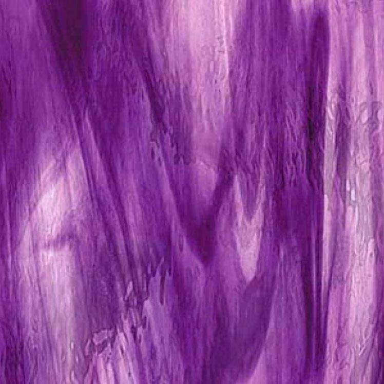 Spectrum Deep Violet, Pale Purple Streaky Transparent Waterglass