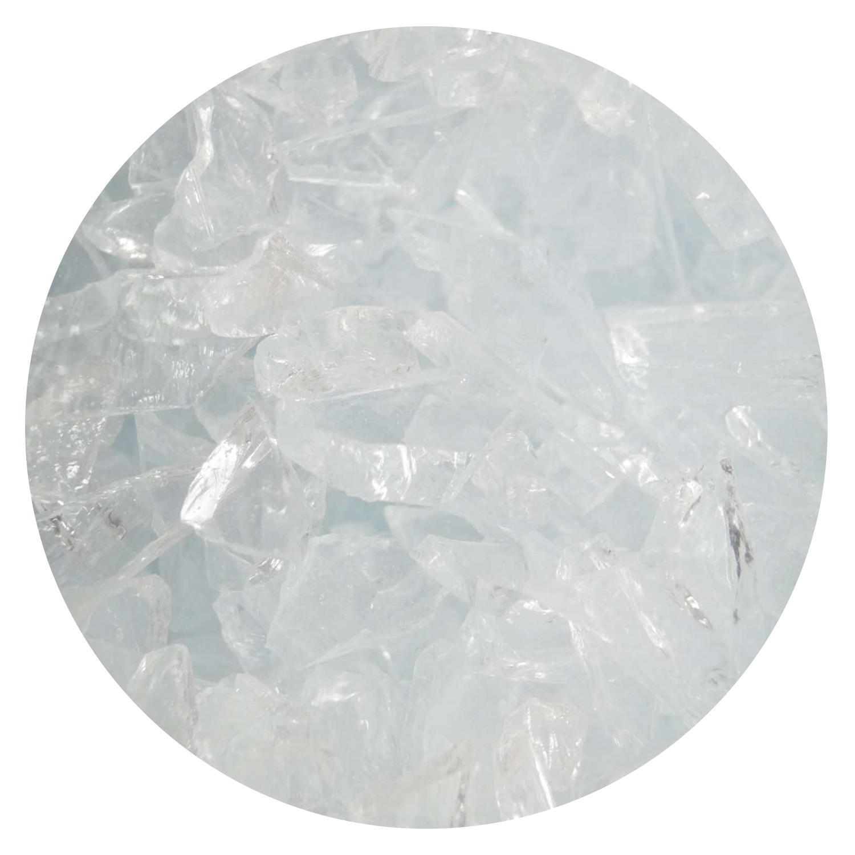 4 lb Clear Mosaic Frit - 96 COE