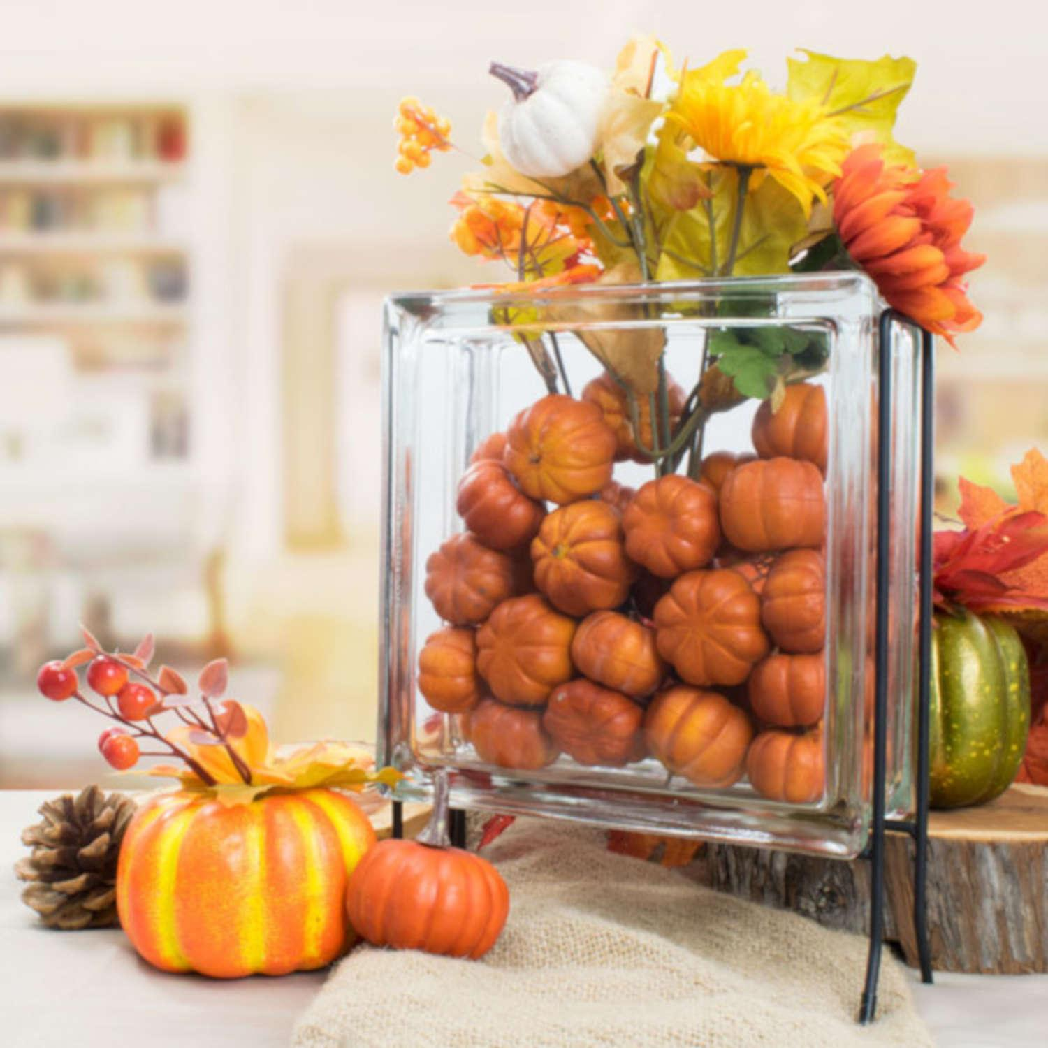 Free Harvest Block Centerpiece Project Guide