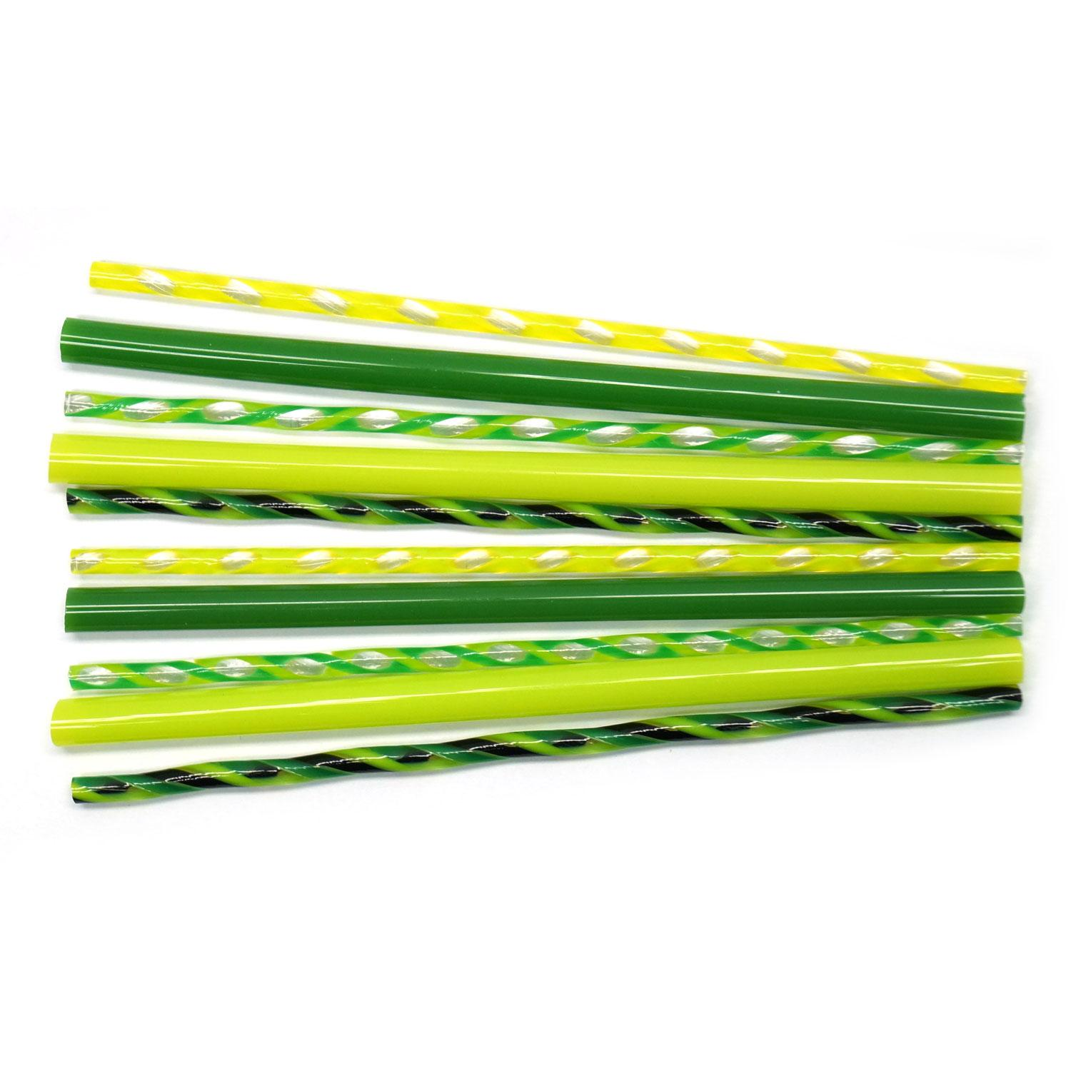 Greens Rod and Twisted Cane Assortment - 90 COE