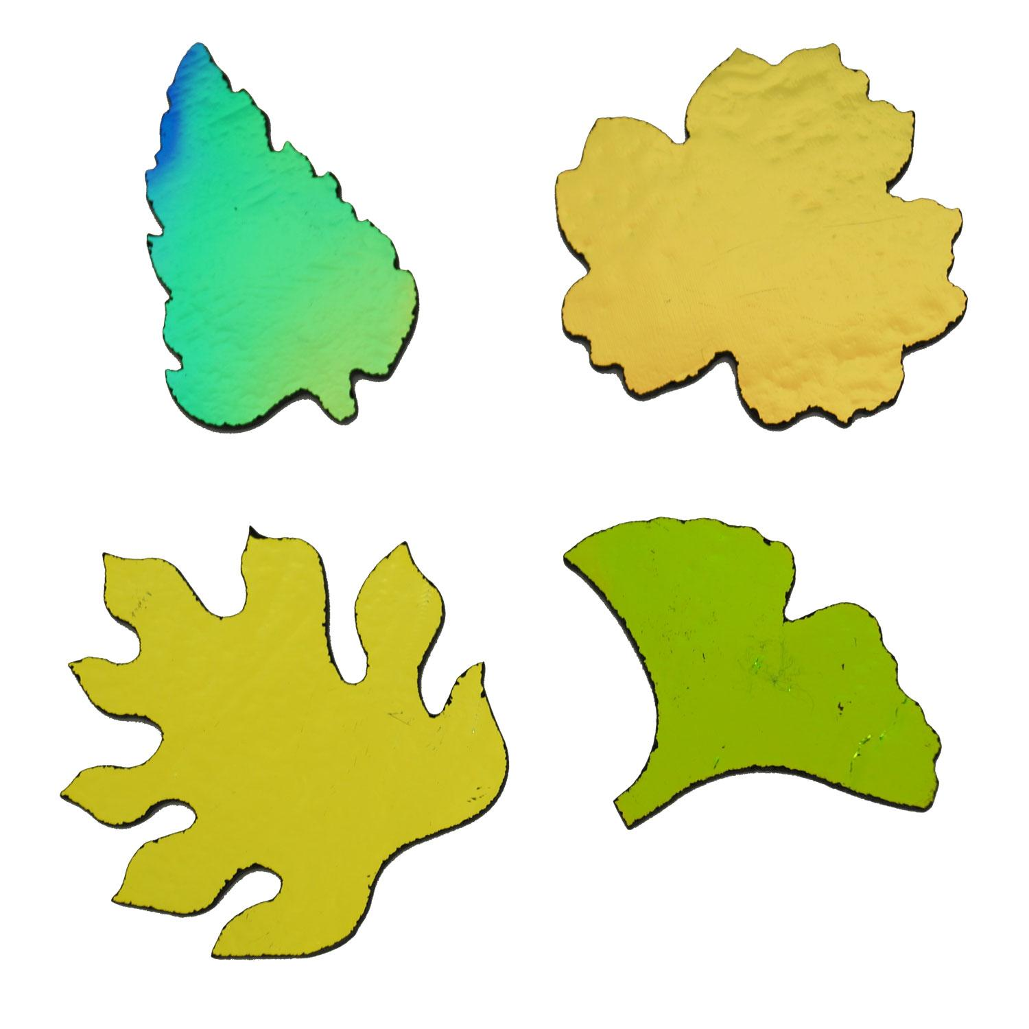 CBS Large Tropical Leaves Assortment 4 Pack - 90 COE