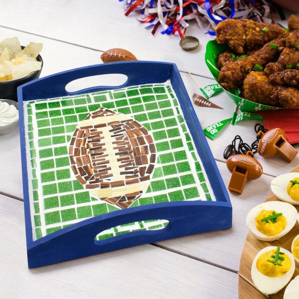 Free Game Day Mosaic Tray Project Guide