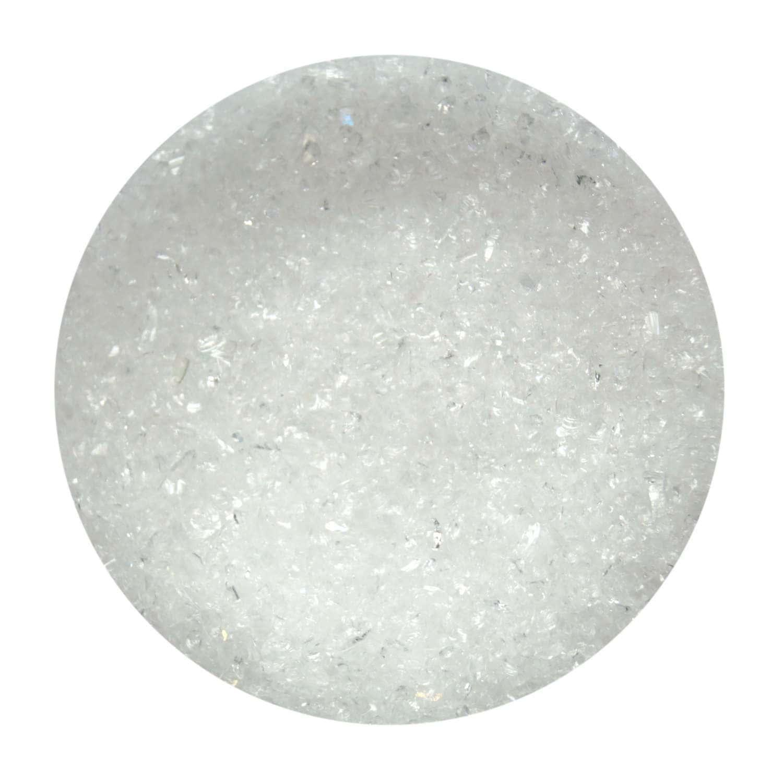 5 oz Clear Iridized Transparent Fine Frit - 90 COE