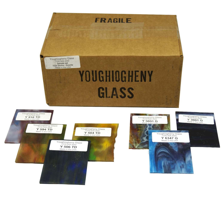 Youghiogheny True Dichro and Granite Sample Set