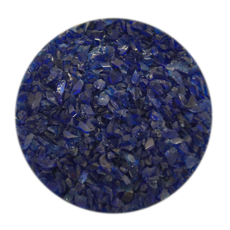 4 Oz Cobalt Blue Coarse Frit - 33 COE