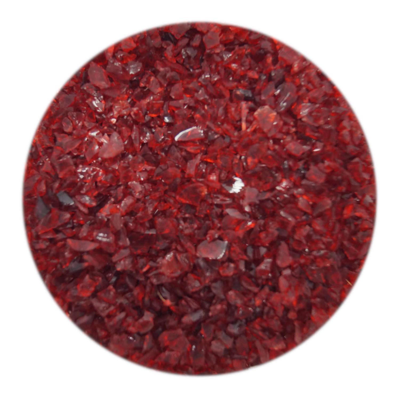4 oz Ruby Coarse Frit - 33 COE
