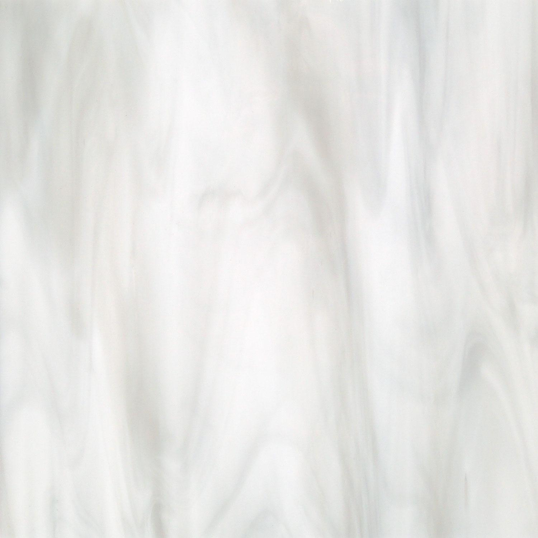 Oceanside Rain Cloud White and Gray Opal Streaky - 96 COE