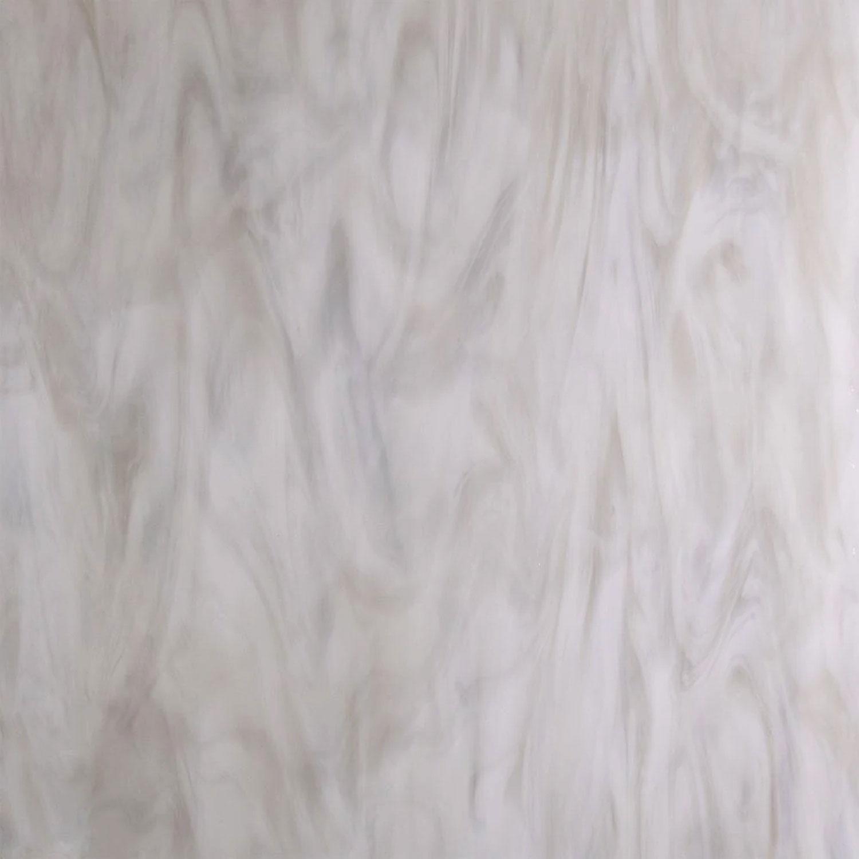 12 x 12 Oceanside Rain Cloud White And Gray Opal Streaky - 96 COE