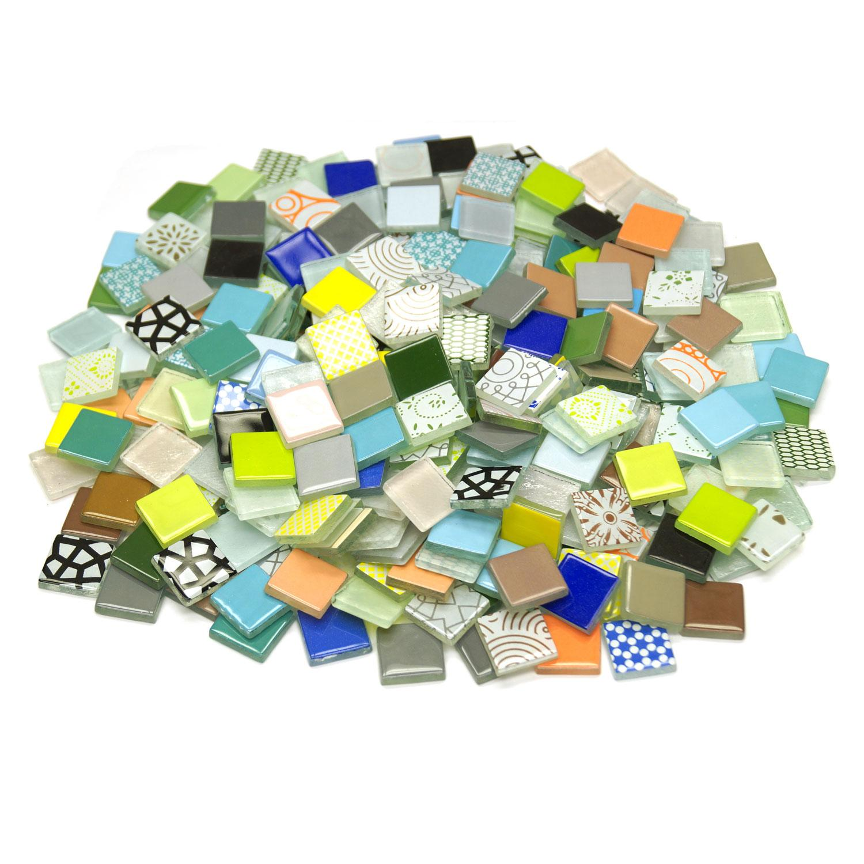 3/4 Mega Mix Glass Tile Assortment - 3 lbs