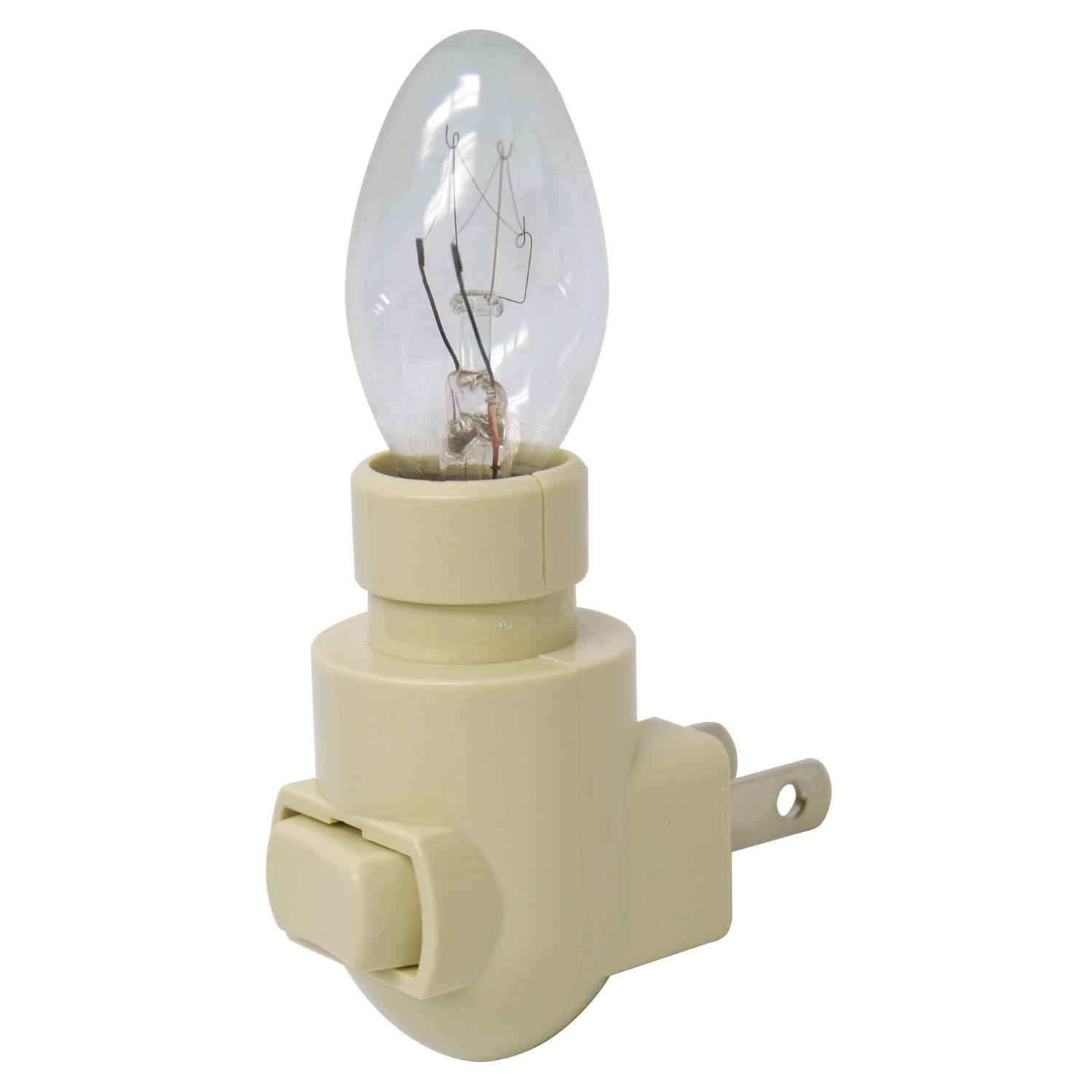 Almond Night Light With 4w Bulb - 12 Pack