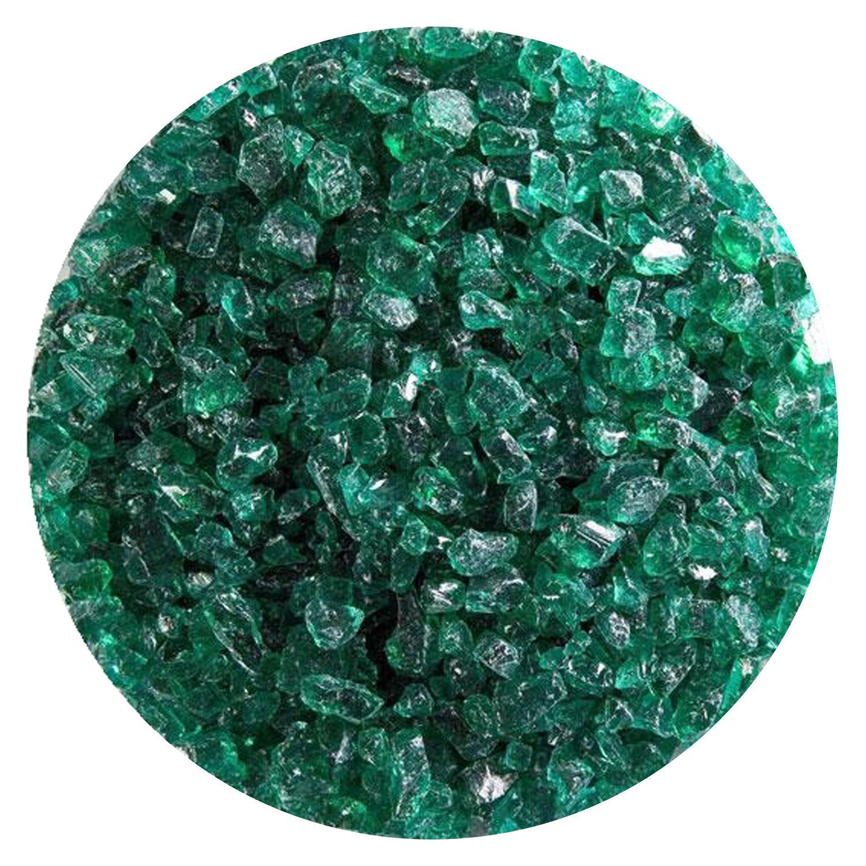 5 lb Emerald Green Transparent Coarse Frit - 90 COE