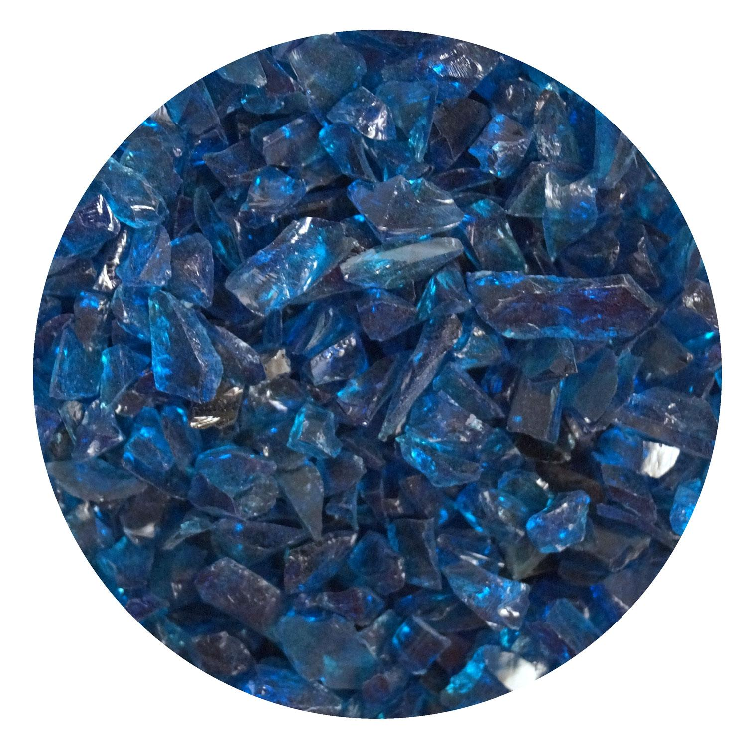 Stained Glass Sapphire Blue Tranparent Luminescent Fusible Wissmach Sheet