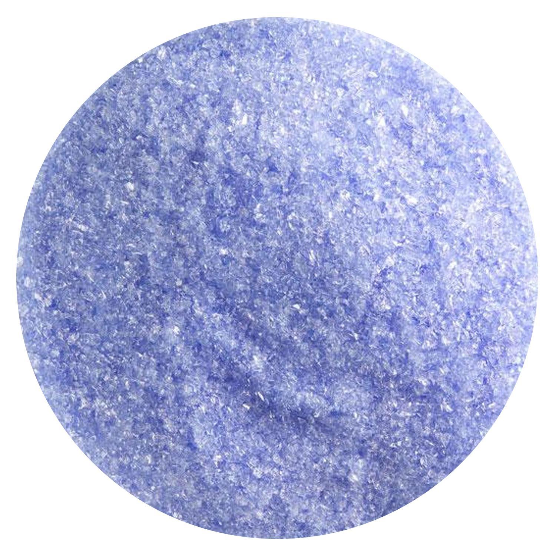 1 Lb Light Sky Blue Transparent Fine Frit - 90 COE