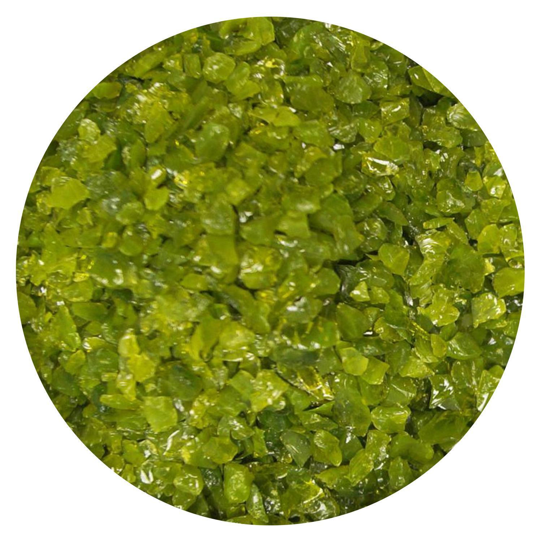 5 oz Avocado Green Opal Medium Frit - 90 COE