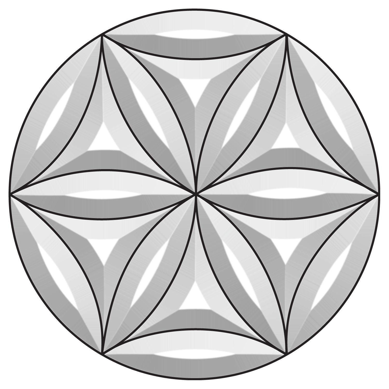 Kaleidoscope Bevel Cluster