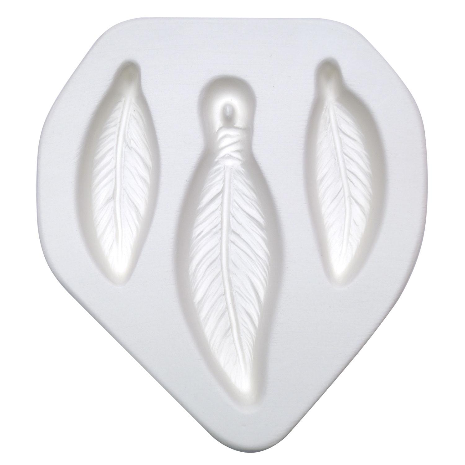 Feather Trio Earring & Pendant Jewelry Mold