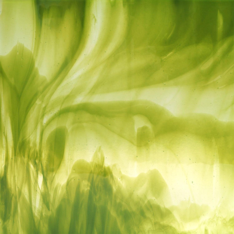 11 x 11 Y-96 Clear And Fern Green Opal Streaky - 96 COE