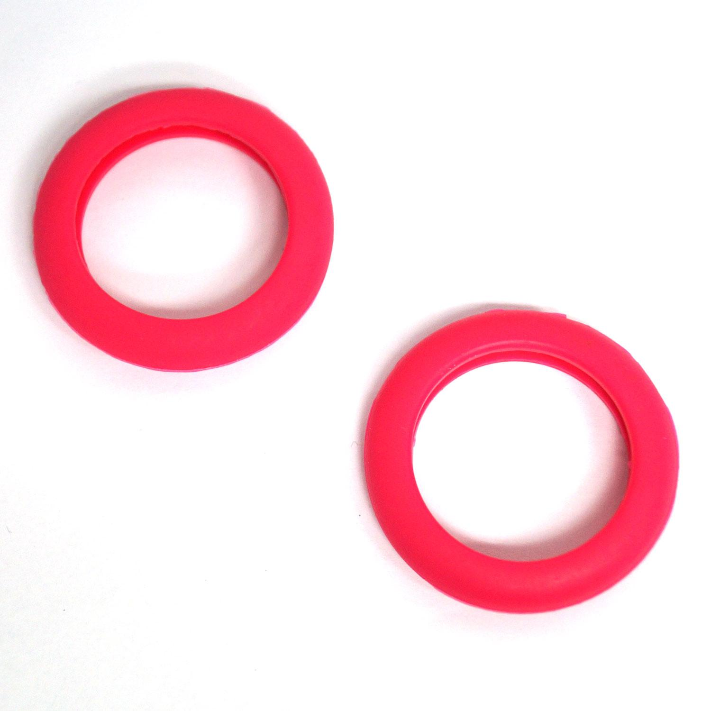 Pink Flat Rubber Bumper