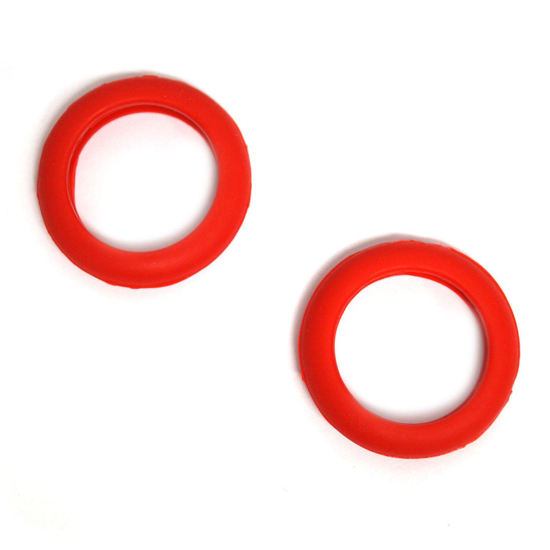 Red Flat Rubber Bumper