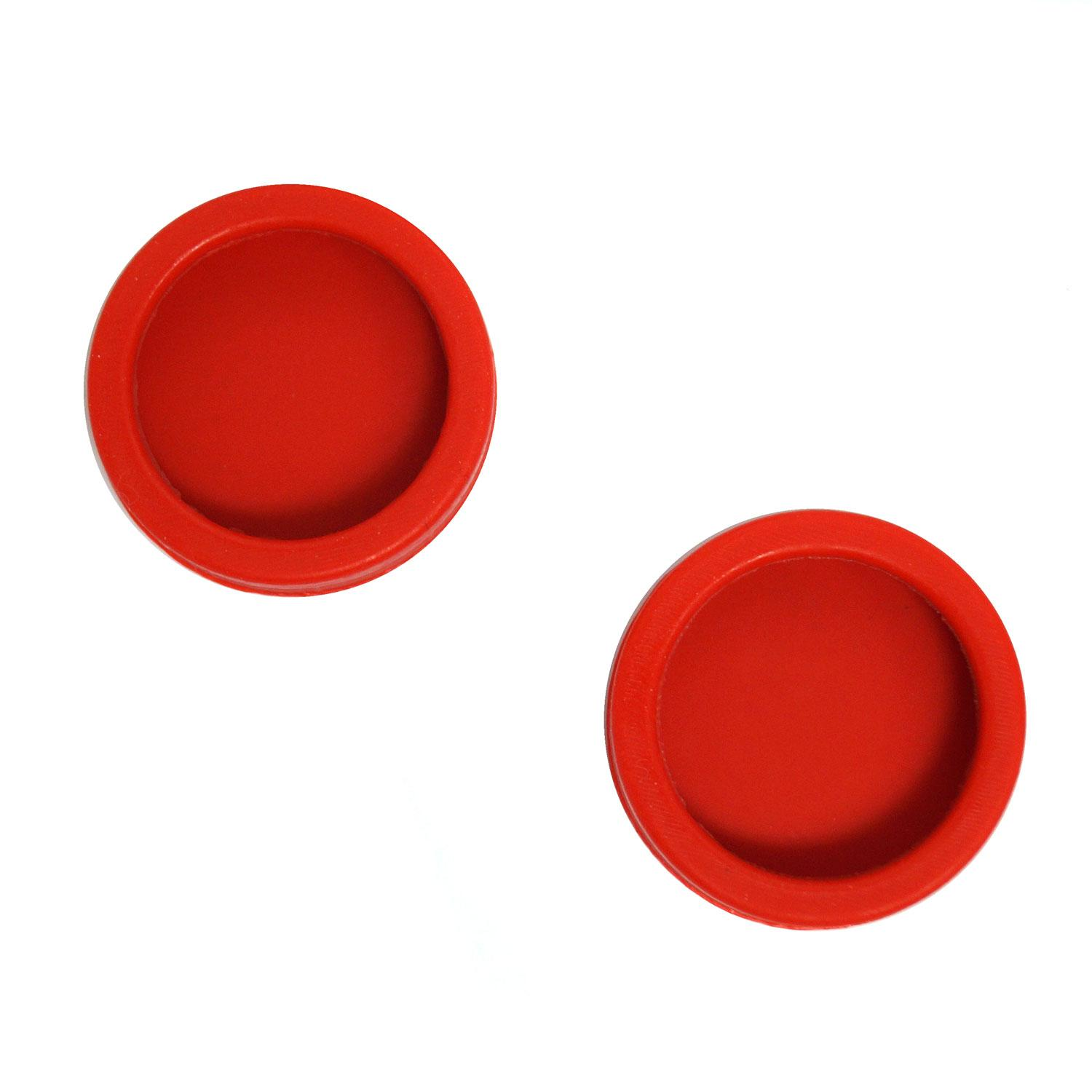 Red Recessed Rubber Bumper