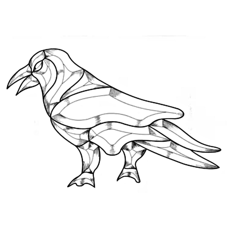 Raven Bevel Cluster