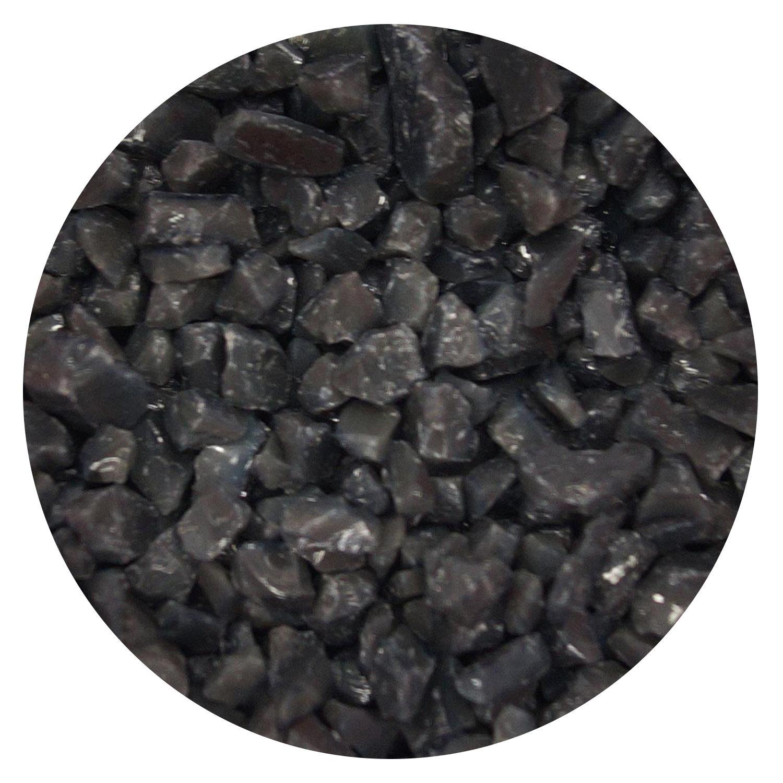 5 oz Deep Gray Opal Coarse Frit - 90 COE